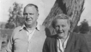 My great grandparents Poppa (Harry) Button and Nanna (Hazel)