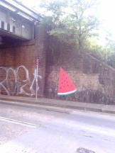 forbidden fruit, street art, Erskineville