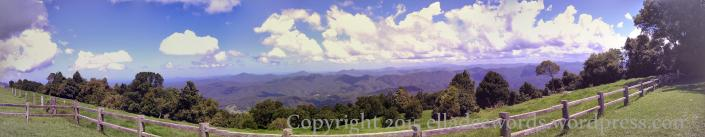 Griffiths Lookout, Dorrigo NSW Australia... the Whip Mountain near Taylors Arm is in the middle far distance.