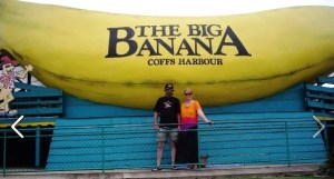 The G.O. and EllaDee at Coffs Harbour's iconic tourist attraction!