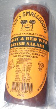 Butch's Smallgoods naturally smoked salami from Old Bus Depot Markets