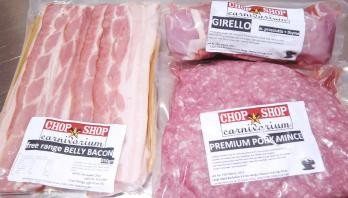 Chop Shop Carnivorium Pork from Eveleigh Farmers Markets