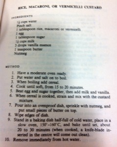 Pa's Rice Pudding Recipe