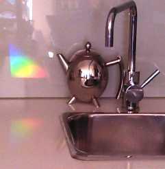 rainbows in my kitchen