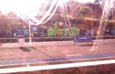 10 On the move, Erskineville Train Station