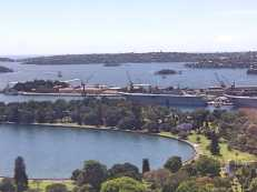 13 Sydney Harbour from my desk
