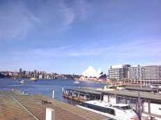 16 Opera House, Waiting for a train at Circular Quay