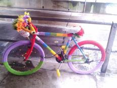 Will miss: yarn - bike bombing