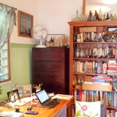 Drawers of stuff & books & collections...