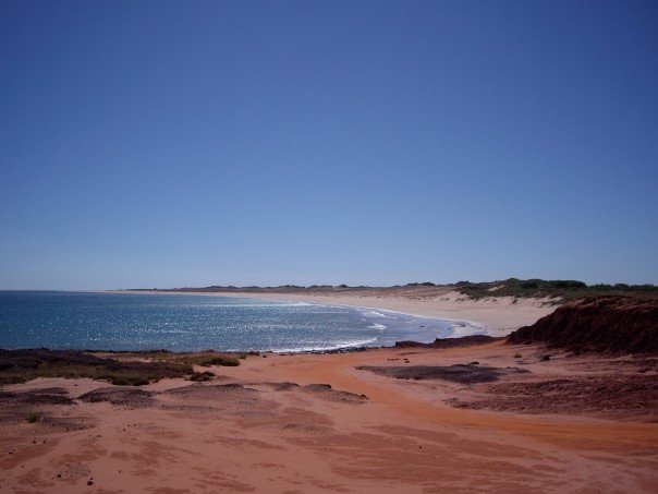 June 2007 - A beach somewhere... north of Broome, Western Australia