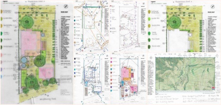 Base map overlays and site assessment.