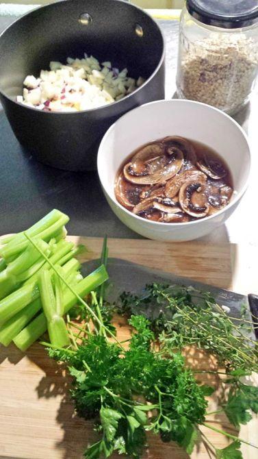 Kitchen_homemade pearl barley risotto