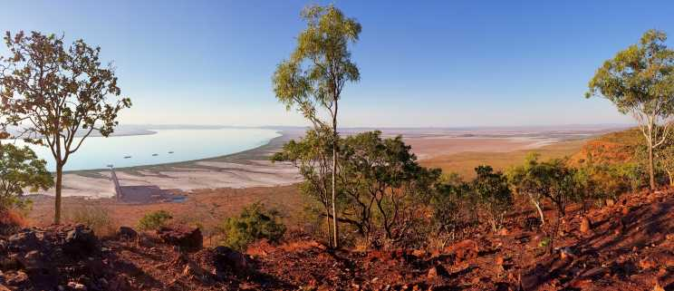 2016 trip: Five Rivers Lookout, Wyndham, Western Australia