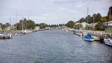 2016 trip: Postcard shot! Port Fairy, Victoria
