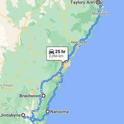 South Coast and Snowy Mountains trip