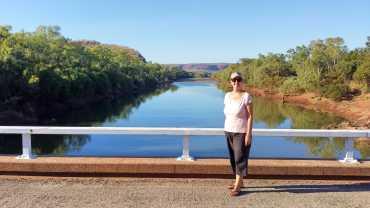 2016 trip: Victoria River, Judbarra Gregory National Park, Western Australia… halfway across the top of Australia