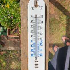 Birthday temperature_50 plus in the sun