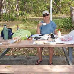 Birthday picnic brunch
