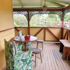 Home Sweet Home: Comfy verandah seating