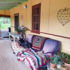Home Sweet Home: Comfy verandah futon