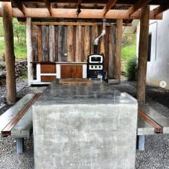 Little Monkerai Airbnb: Communal pavilion