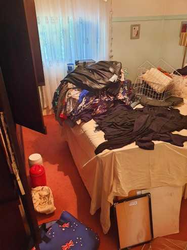 Guest room in progress.