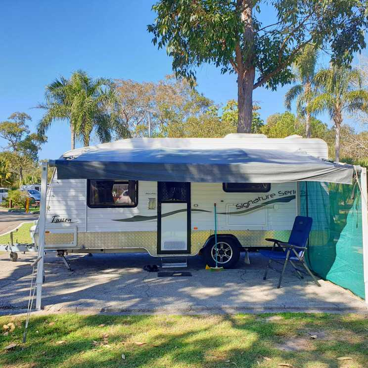 Meet Con-Fusion, our new caravan.